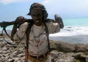 SomaliPirate 300x211 Causes of Maritime Piracy in Somalia Waters 