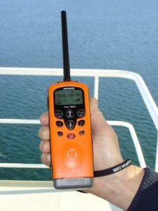 Handheld Maritime VHF 225x300 SOLAS requirement for Global Maritime Distress Safety System (GMDSS)