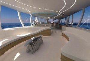 flying yacht futuristic vehicle yelken octuri 04 300x204 Yacht + Plane: The Flying Trimaran Sailing Yacht Concept