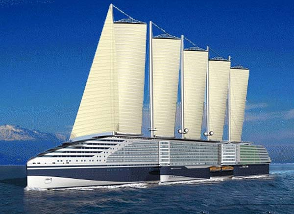 Video of the Ultimate Eco-friendly Cruise Ship of the ...